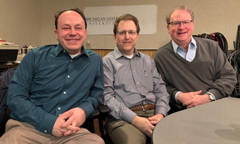 Matt Grossmann, Arnold Weinfeld and Charles Ballard podcasters.