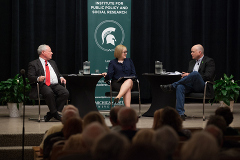 Bill Kristol, Zoe Clark and Ron Fournier
