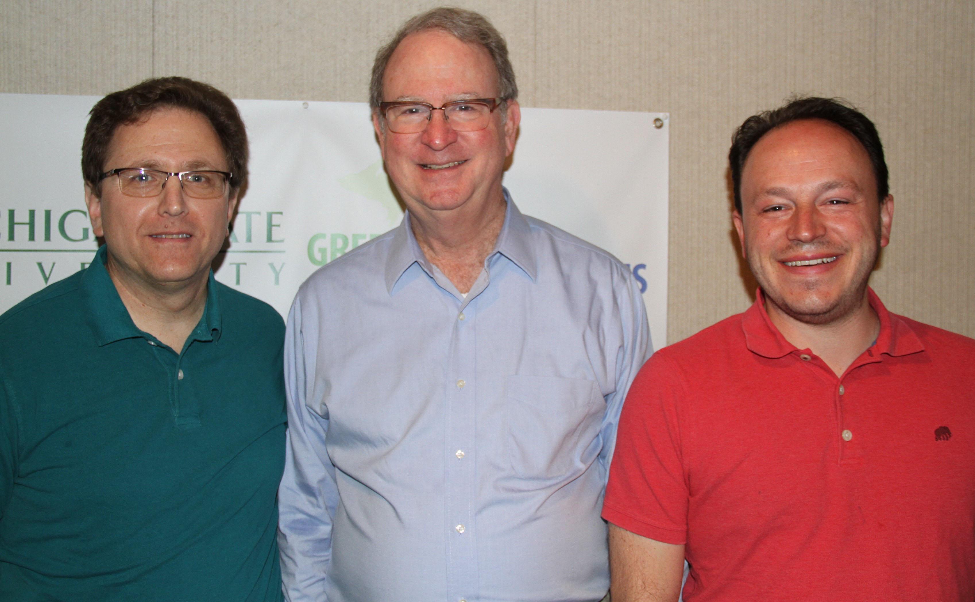 Arnold Weinfeld, Charles Ballard and Matt Grossmann